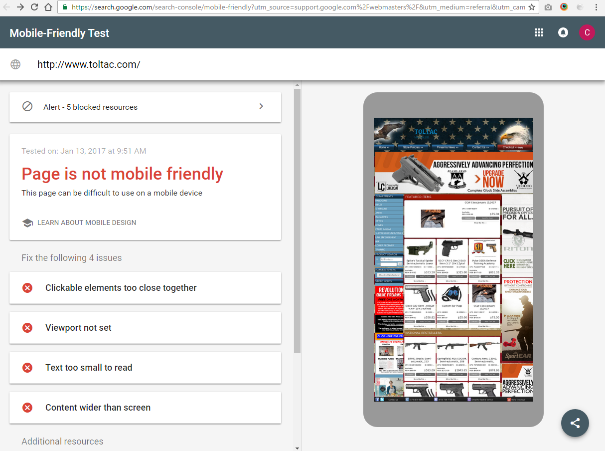 Does your website work on Mobile?